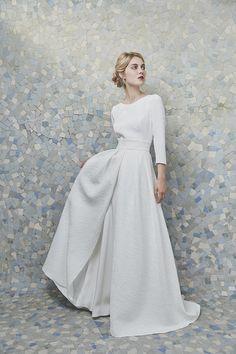 Découvrez la collection de robes de mariée Anne de Lafforest 2019 - Madame Figaro