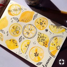 When life gives you lemons... Draw them
