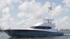 The styling of the new Hatteras GT 70 speaks for itself. Fast Boats, Cool Boats, Speed Boats, Power Boats, Yacht Boat, Boat Dock, Hatteras Yachts, Viking Yachts, Jet