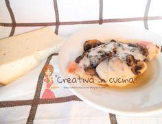 Scaloppine ala boscaiola, con petto i pollo in stile Cordon Bleu, per la ricetta >> http://creativaincucina.blogspot.it/2015/09/scaloppine-alla-boscaiola-con-petto-di.html Scallops boscaiola wing, with the chest-style chicken Cordon Bleu, for the recipe >> http://creativaincucina.blogspot.it/2015/09/scaloppine-alla-boscaiola-con-petto-di.html