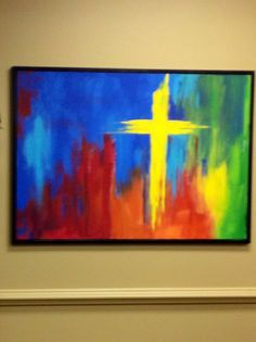 Painting in youth room
