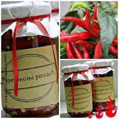 Ricetta segreta per peperoncini piccanti sott'olio: !* Hot peppers in oil: secret recipe!