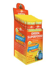 This Amazing Grass Tangerine Immunity Defense Green SuperFood Powder - Set of 15 by Amazing Grass is perfect! #zulilyfinds