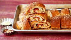 Recipe of the Day: Pepperoni Bread  Save the recipe 👍 Pepperoni Bread, Pepperoni Recipes, Frozen Bread Dough, Kitchen Recipes, Soup And Salad, Bread Recipes, Easy Recipes, Easy Meals, Dinner Recipes