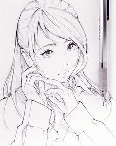 Pin by aphrodite art on ladowska drawings, art sketches, realistic drawings Anime Drawings Sketches, Realistic Drawings, Anime Sketch, Manga Drawing, Manga Art, Anime Art, Guy Drawing, Drawing Ideas, Manga Anime