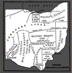 Us History, History Facts, Family History, Steubenville Ohio, East Liverpool Ohio, Delaware Indians, Springfield Ohio, Ohio Map, Forest City