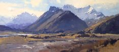 This 'Archive' page includes a few of the many paintings I have done over the last thirty years or so. Cool Landscapes, Landscape Paintings, Landscaping Images, Traditional Paintings, People Art, Old Master, Artist Painting, New Zealand, Art Boards