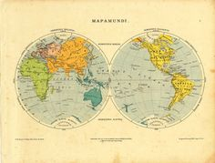 1911 star map northern hemisphere astronomy chart antique original antique world map in hemispheres world globe 1912 gumiabroncs Image collections