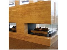 See Through Gas Fireplaces from Real Flame