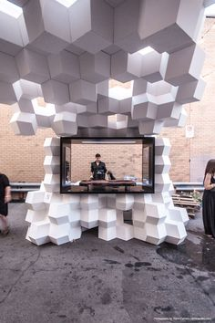 Creative exhibit trade-show booths created by TriadCreativeGroup.com inspired by…