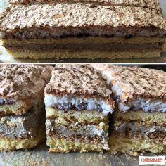 "Пляцок ""Сезамовець""(Sezamowiec) / Торти / Кукорама Serbian Recipes, Bread Recipes, Recipies, Deserts, Goodies, Food And Drink, Baking, Eat, Cake"