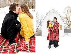 Winter Engagement Pictures