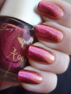 Accessorize Pink Spice. Dupe for MAC Bad Fairy.