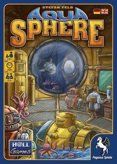 Theology of Games — #Review AquaSphere #Boardgame #StefanFeld #TastyMinstrelGames
