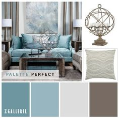 Bedroom colors...not style but I dig the color scheme
