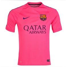 14/15 Barcelona Pink Training Soccer Jersey Shirt