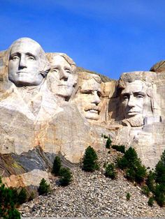 Mount Rushmore is an iconic US landmark in South Dakota. It features the sculptures of four US Presidents: George Washington, Thomas Jefferson, Theodore Roosevelt, and Abraham Lincoln. Students will read a passage, about the creation of Mount Rushmore. Students will answer questions about details, making inferences, and defining words.