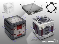 Blink [licensed for non-commercial use only] / Concept Art - Props