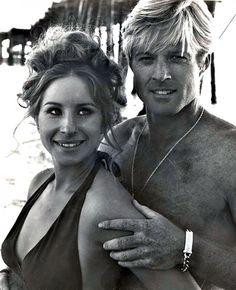 Barbra Streisand & Robert Redford