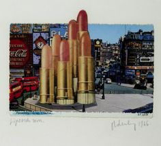 Claes Oldenburg, 'Lipsticks in Piccadilly Circus, London' 1966 from Performance Art 101: The Swinging Sixties, Pop, film, and Fluxus