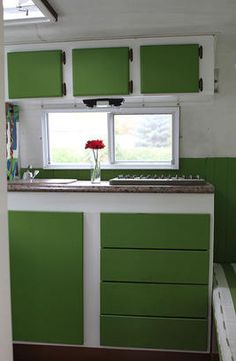 Green boler kitchen.