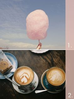 cotton candy & coffee