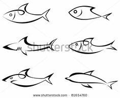 Fish icon Stock Photos, Fish icon Stock Photography, Fish icon ...