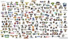 mega man style of of 50 video games