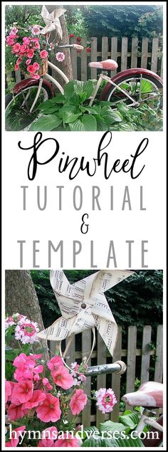 DIY Pinwheel Tutorial