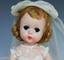 1950's Madame Alexander  Lissy Bride or Bridemaids Doll