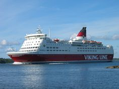 Viking line is one of the ferries between Helsinki and Stockholm, Sweden