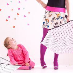 Bisous Hearts Handbag Umbrellas