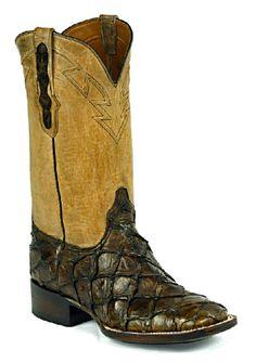 Nocona boots heroes poster tarantula nocona heritage for Pirarucu fish boots