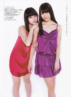 NMB48 Miru Shiroma Rina Kondo Teenage Happy Days on Entame Magazine - JIPX(Japan Idol Paradise X)