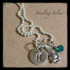 Hand Stamped Jewelry  Personalized Necklace  by MadisonCraftStudio, $29.00