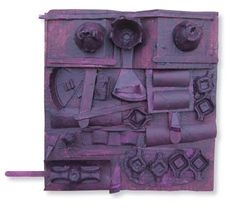 My Adventures In Positive Space: Louise Nevelson Assemblage