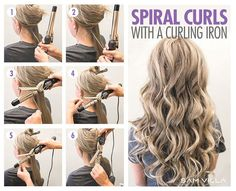 How To Curl Your Hair - 6 Different Ways To Do It - Bangstyle