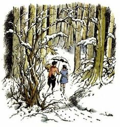 The Original Art of Narnia (article and pictures) Pauline Baynes (illustrator)