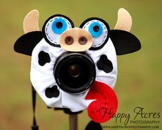 Lens Bling  Moo Cow  Ready to Ship by HappyAcresFarm on Etsy, $21.00