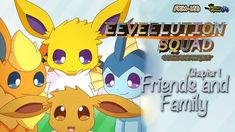 Eeveelution Squad Comic Dub: Chapter 1 - Friends and Family Eevee Comic, Pokemon Stories, Pokemon Eevee Evolutions, The Golden Boy, Lugia, Pokemon Comics, Nintendo Switch Games, Pokemon Pictures, Catch Em All