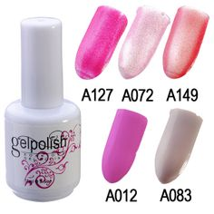 15ml Colorful Nail Art Soak off UV Gel Polish