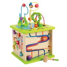 Country Critters Play Cube and over 7,500 other quality toys at Fat Brain Toys. Playful excitement all in one place, the Play Cube is a hub of learning activity! Senses come alive as little ones sit down to play. Five sides present unique play adventures. Kiddos keep busy for hours.