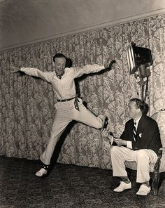 Fred Astaire and Bing Crosby.