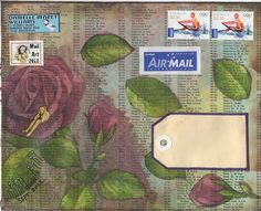 Danielle Maret - Mail Art 237, via Flickr.