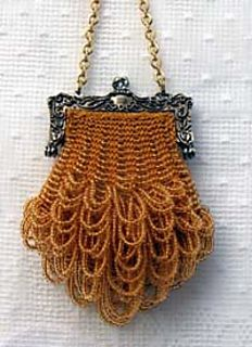 A Beautiful Purse To Display In Any Room Or Use As Coin Doll This Small Is Fast And Easy Knit