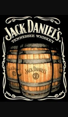 Jack Daniel's is a brand of sour mash Tennessee whiskey that is among the world's best-selling liquors and is known for its square bottles and black label. Vintage Labels, Vintage Ads, Vintage Signs, Vintage Posters, Jack Daniels Whiskey, Bourbon Whiskey, Jack Daniels Logo, Jack Daniels Barrel, Whiskey Barrels