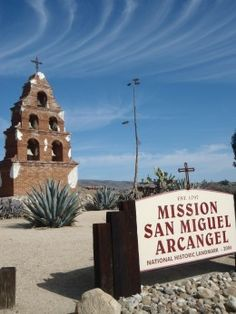 Just off US 101 in the sleepy town of San Miguel....
