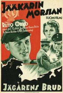 Jääkärin morsian - The Jaeger's Bride… Film Posters, Golden Age, Finland, I Movie, 1920s, Nostalgia, Cinema, Culture, Bride