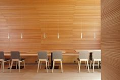 Mierta & Kurt Lazzarini Architekten - Project - Sport and leisure centre Promulins Commercial Architecture, Interior Architecture, Interior Design, Design Bar Restaurant, Book Cafe, Cafe Tables, Dining Room Furniture, Living Spaces, Projects
