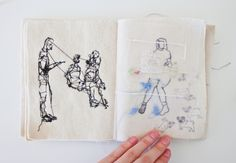 pktt A.O Z.M 2013 Notebook, Textiles, Fabrics, The Notebook, Exercise Book, Textile Art, Notebooks